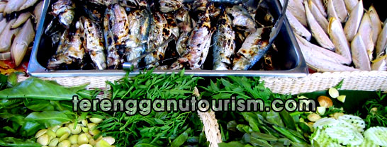 terengganu local delicacy, traditional food and cuisine, malay